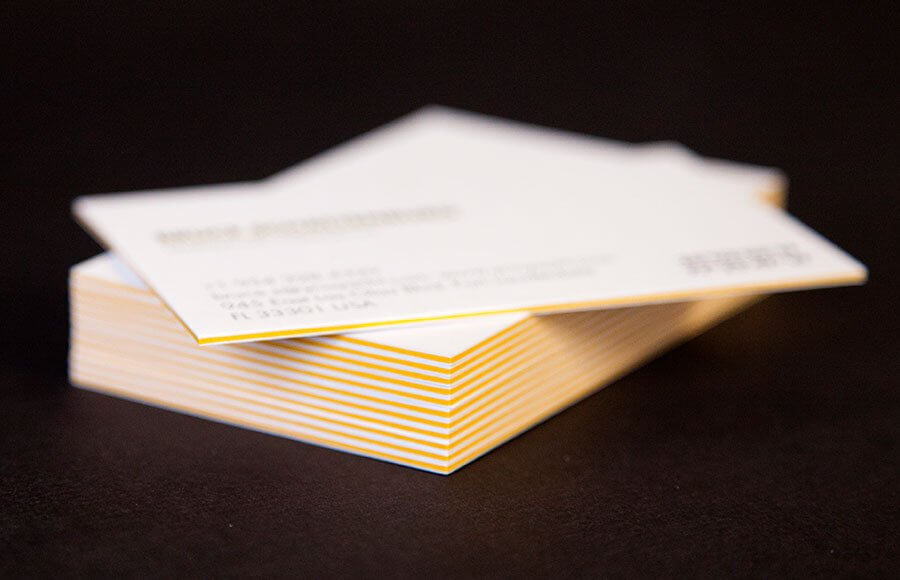 4 Tips For Creating A High Impact Business Card