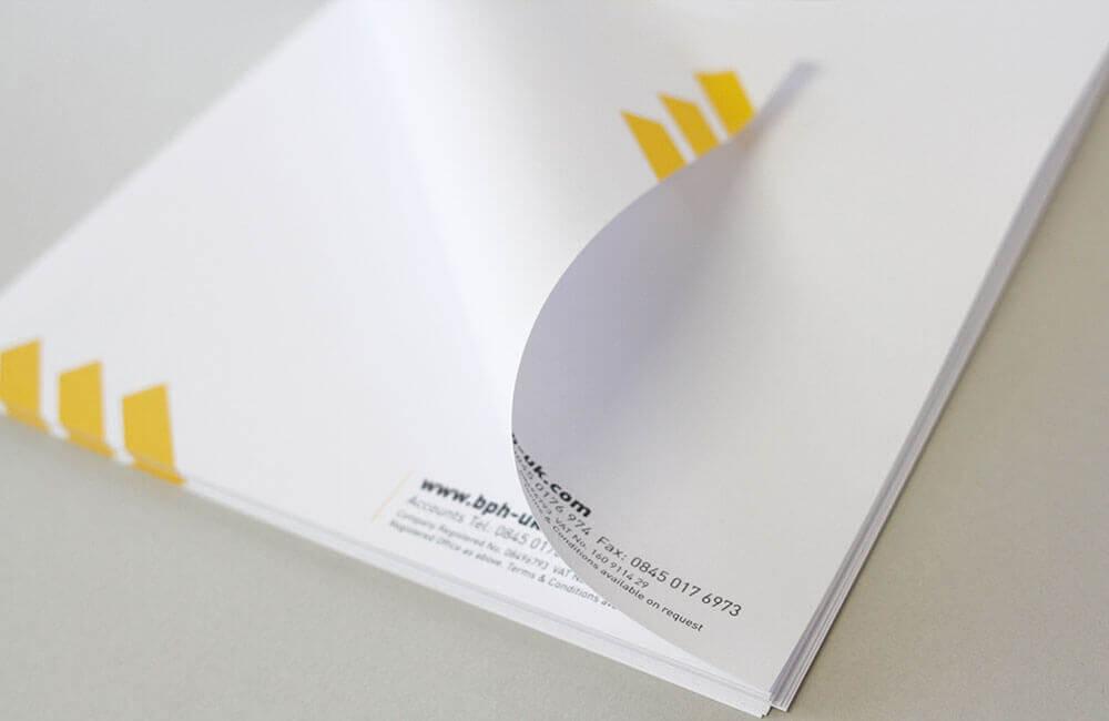 Printed Letterhead