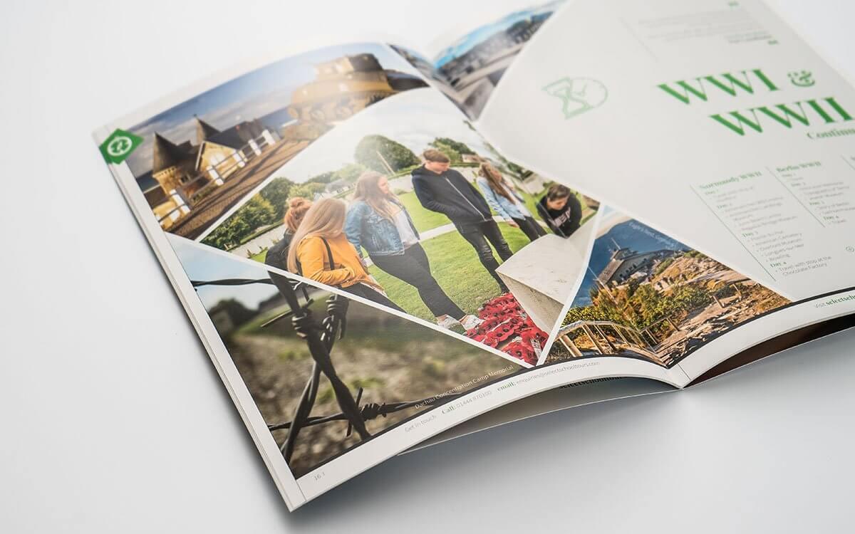 Saddle Stitched School Brochure