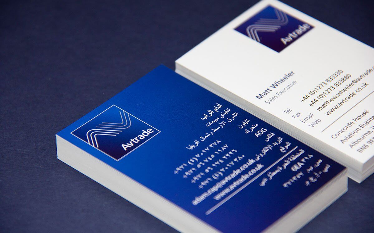 Gloss Laminated Business Card