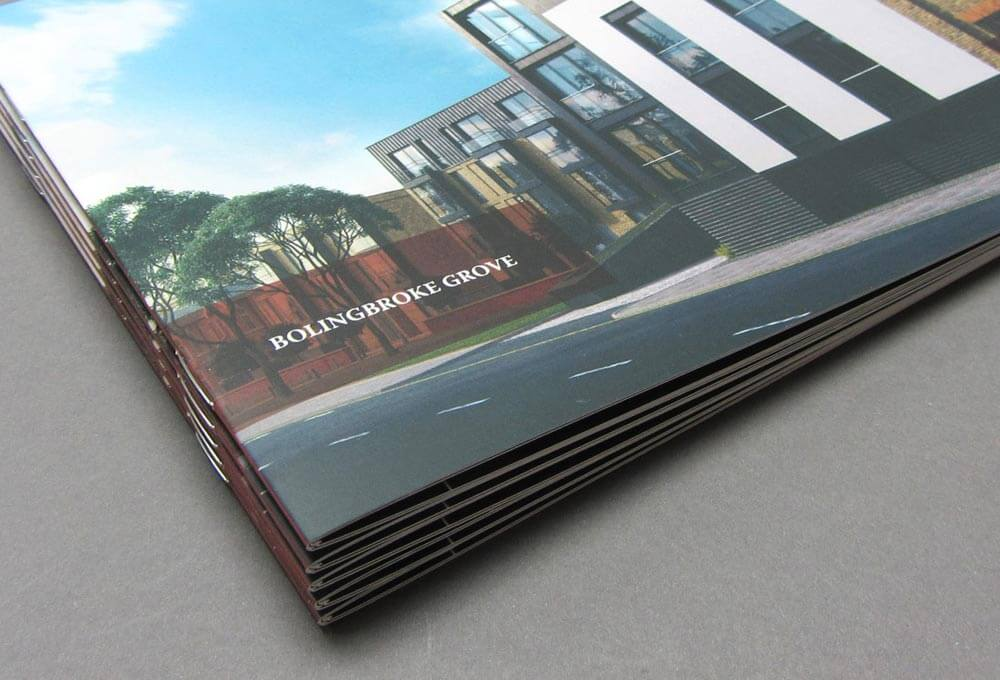 Example Of Stapled And Saddle Stitched Brochures