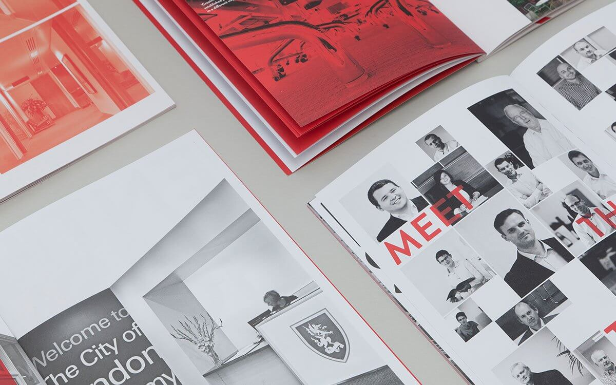 A4 Uncoated, Perfect Bound Brochures