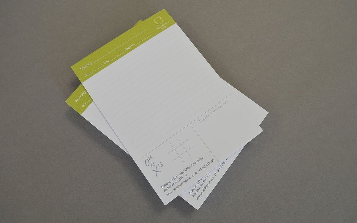 Branded Notepad