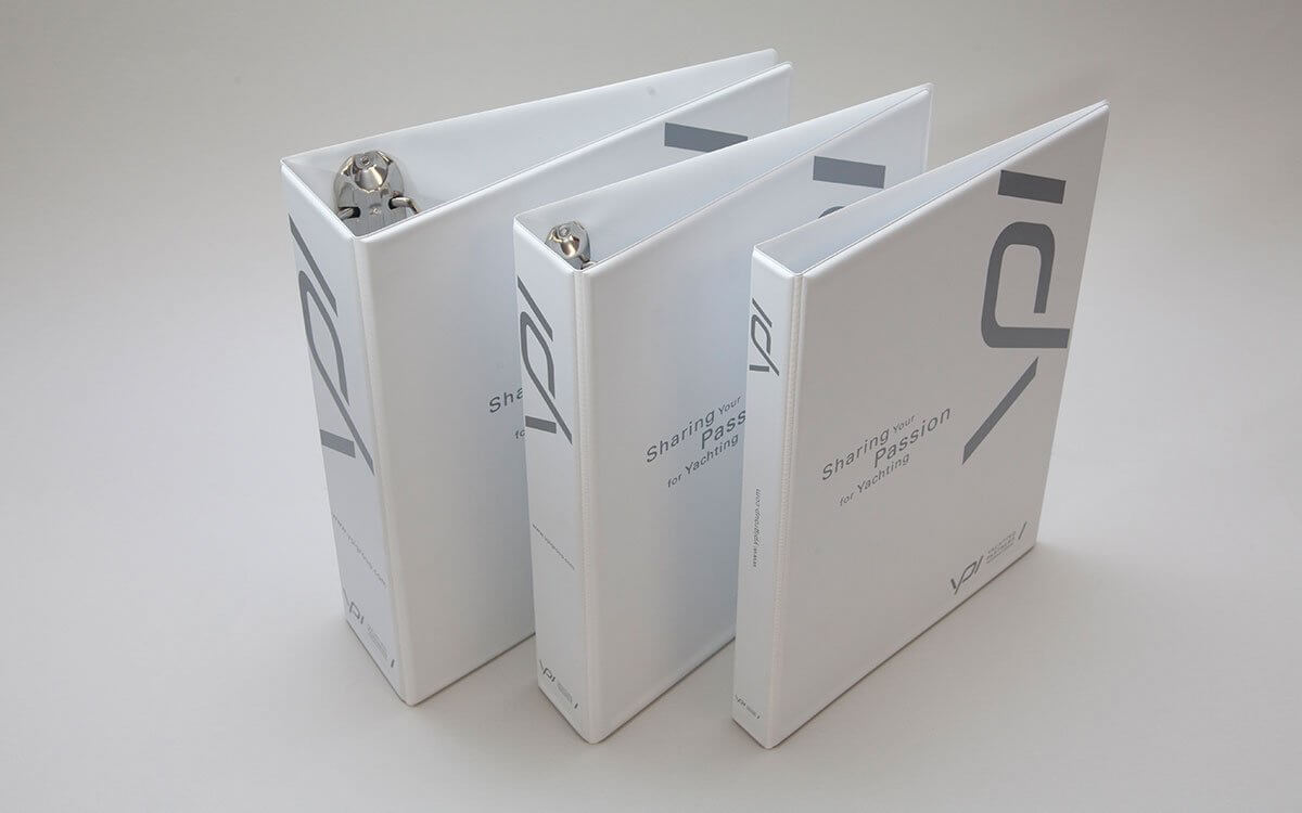 PVC Over Board Ring Binders