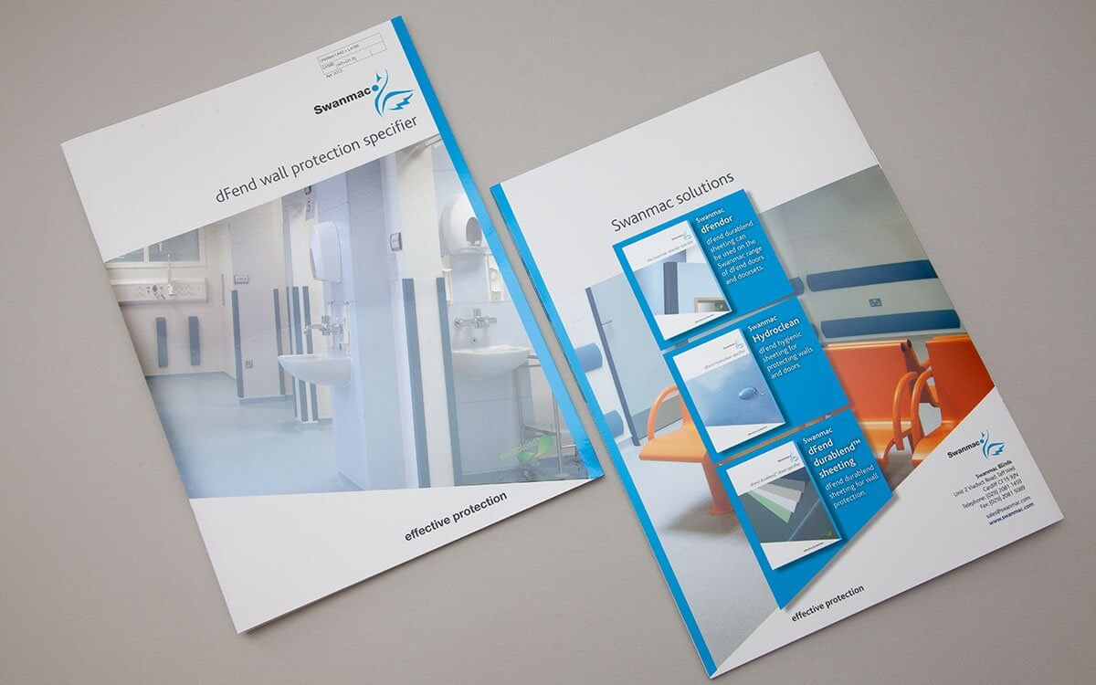 A4 Product Brochures