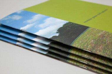 Saddle Stitched Uncoated Brochure