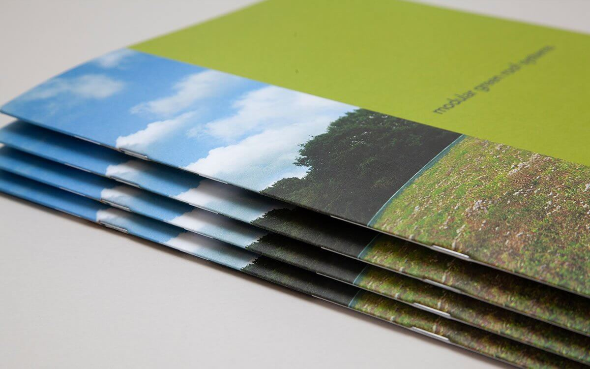 Saddle Stitched Uncoated Brochure