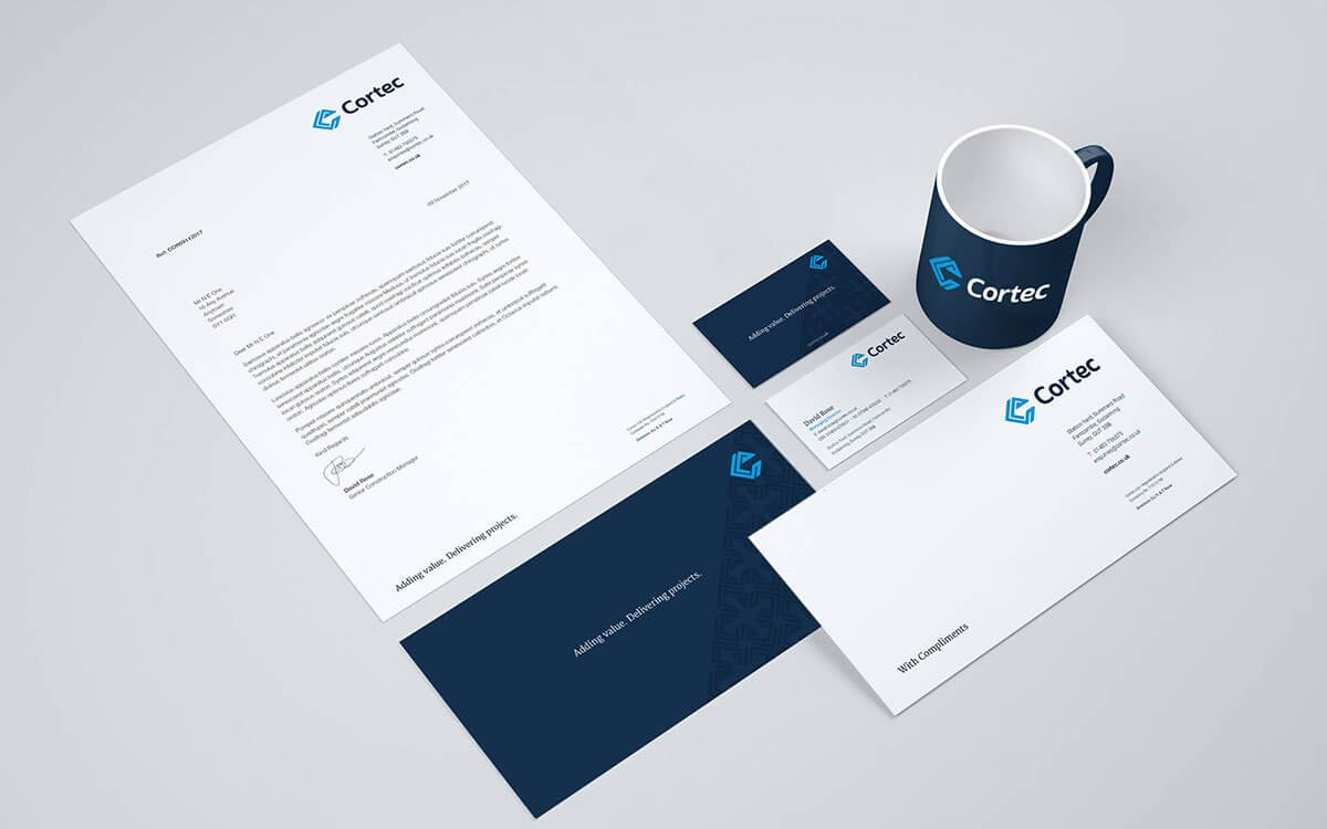 Business Stationery Set
