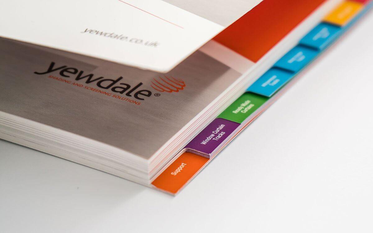 Index Tab Cut Catalogue