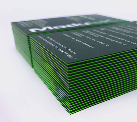 Duplex Business Card Printing